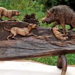 Huntdecor aduce la F&H Expo sculpturi in lemn si os
