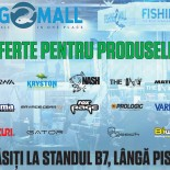 20 de branduri premium in standul Fishing Mall